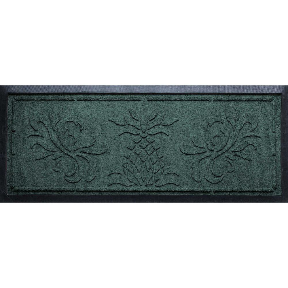 Evergreen 15 in.x 36 in. x 0.5 in. Pineapple Boot Tray