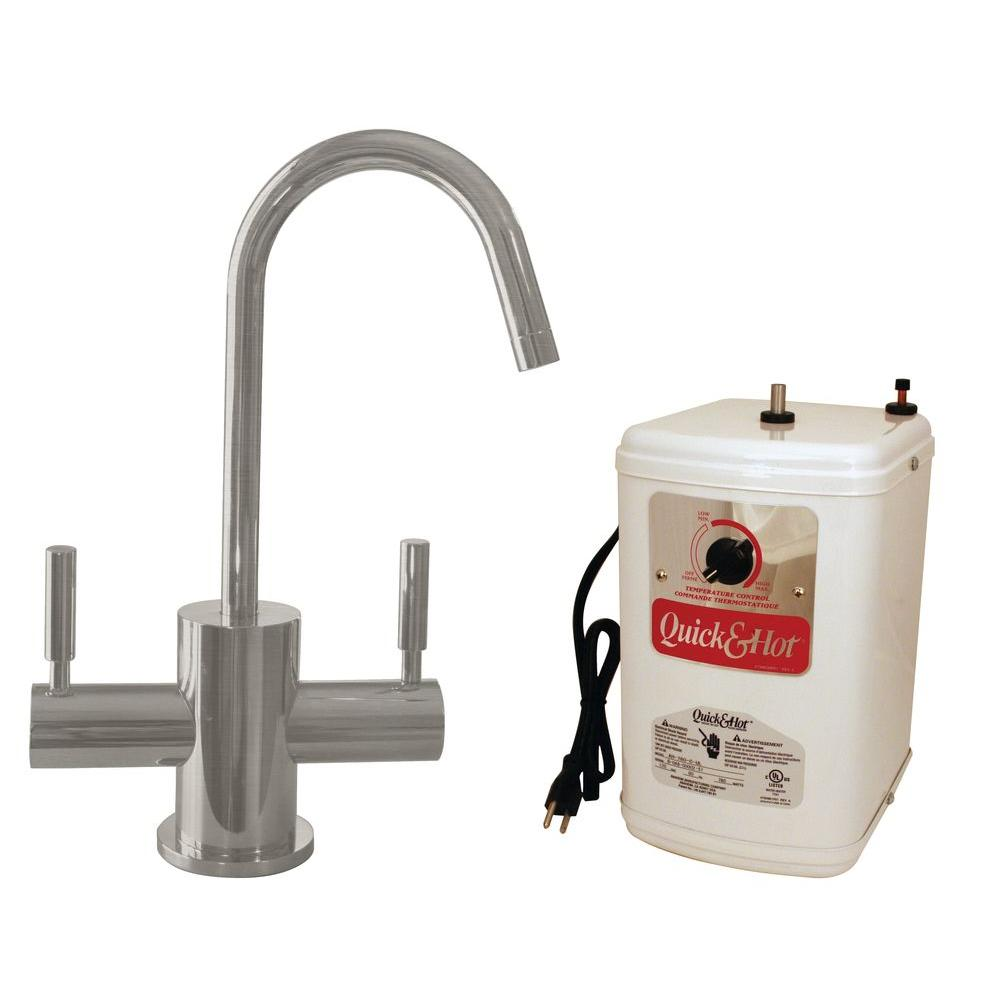 Single Handle Hot Water Dispenser Faucet With Heating Tank