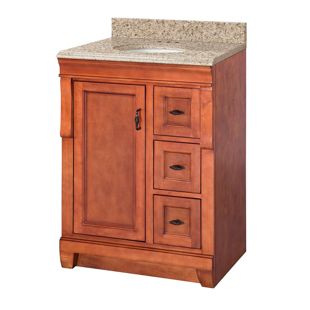 Foremost naples 25 in w x 19 in d vanity in warm for Foremost homes