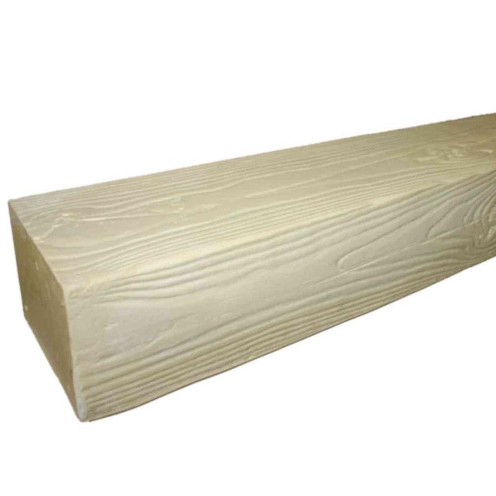 Superior Building Supplies STB 20U - 8 in. x 6 in. x 16 ft. Unfinished Faux Wood Beam