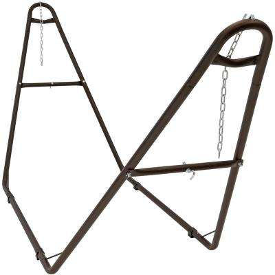 Universal Multi-Use Steel 2-Person Hammock Stand in Bronze