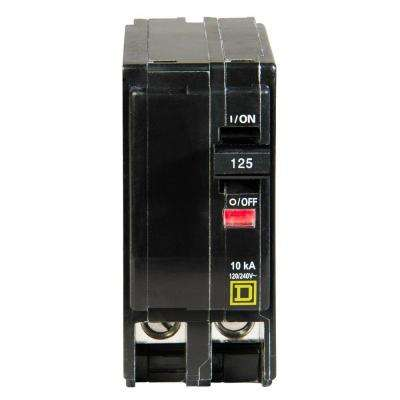 QO 125 Amp 2-Pole Circuit Breaker
