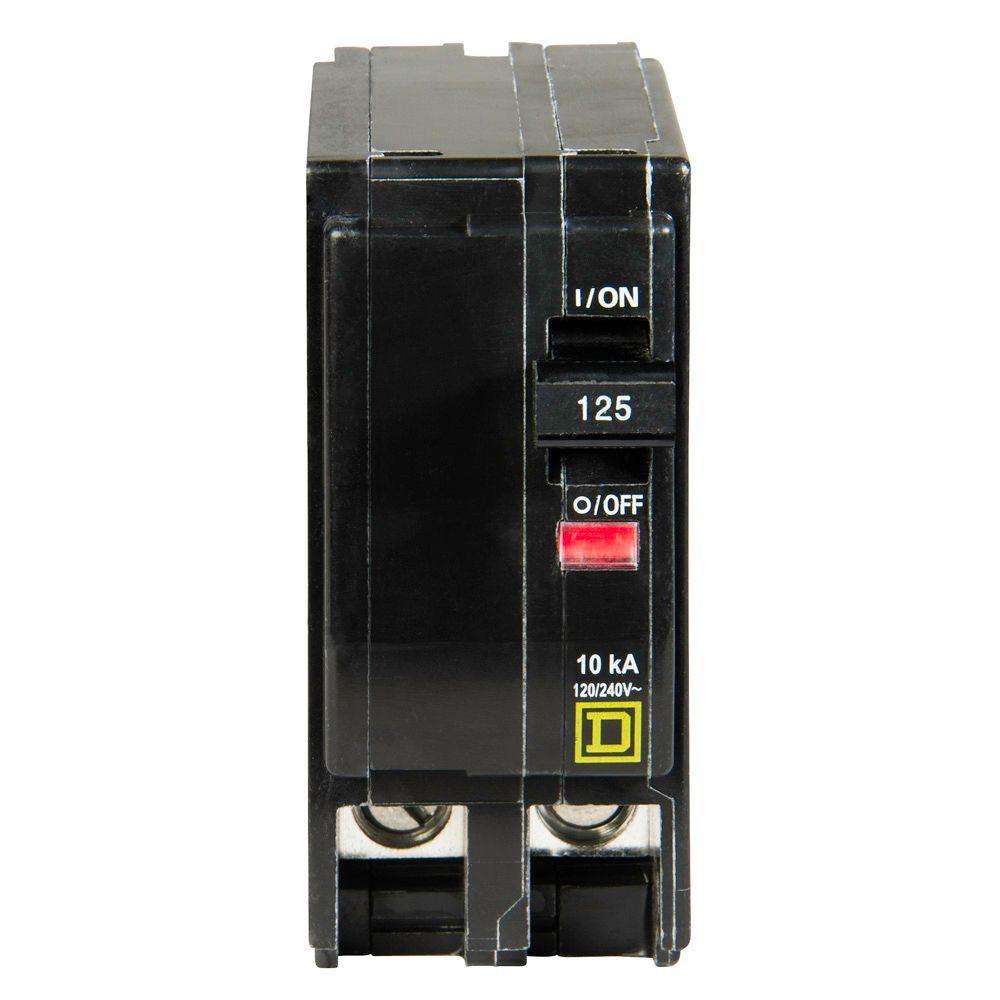 QO 125 Amp 2-Pole Circuit Breaker