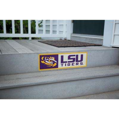 NCAA LSU Tigers Outdoor Step Graphic