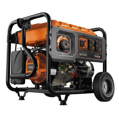 7,000 Watt Gasoline Powered Electric Start Generator with Rapid Start Dial