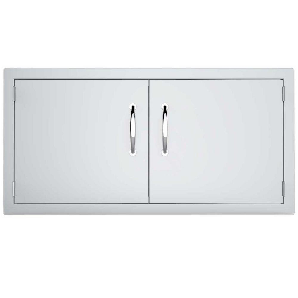Classic Series 42 in. 304 Stainless Steel Double Access Door-A ...