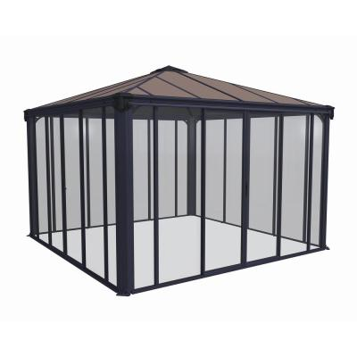 Ledro 3600 12 ft. x 12 ft. Enclosed Gazebo and Spa Enclosure