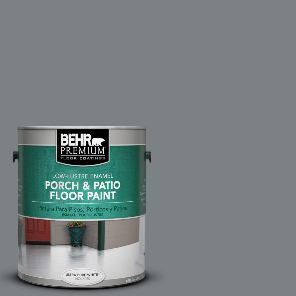 BEHR Premium 1 gal. #PPU26-03 Legendary Gray Low-Lustre Porch and Patio on floor home designs, entry home designs, pantry home designs, bathroom home designs, storage home designs, new farmhouse style home designs, 2 story designs, construction home designs, conservatory home designs, three story home designs, shower home designs, yard home designs, split level designs, rooftop home designs, flooring home designs, landscaping home designs, window home designs, condo townhouse designs, furnished home designs, dock home designs,
