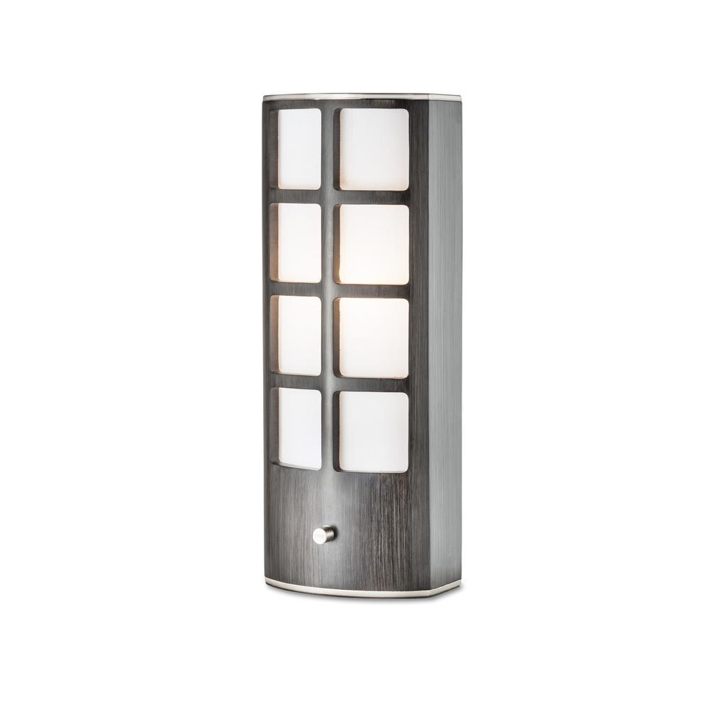 NOVA of California Ventana Accent 20 in. Gray Table Lamp