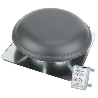 1170 CFM Weatherwood Power Roof Mount Attic Ventilator