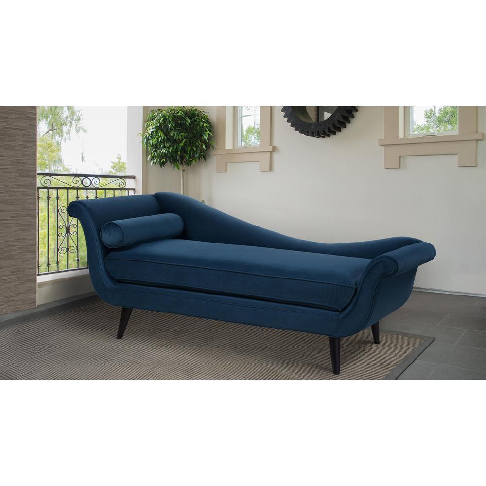 Swell Sandy Wilson Satin Teal Kai Chaise Lounge S62071 R 867 The Spiritservingveterans Wood Chair Design Ideas Spiritservingveteransorg