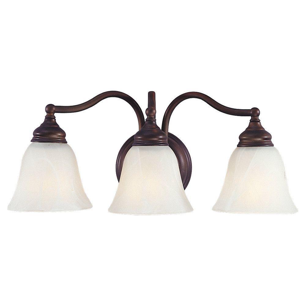 Bristol 3-Light Oil Rubbed Bronze Vanity Light
