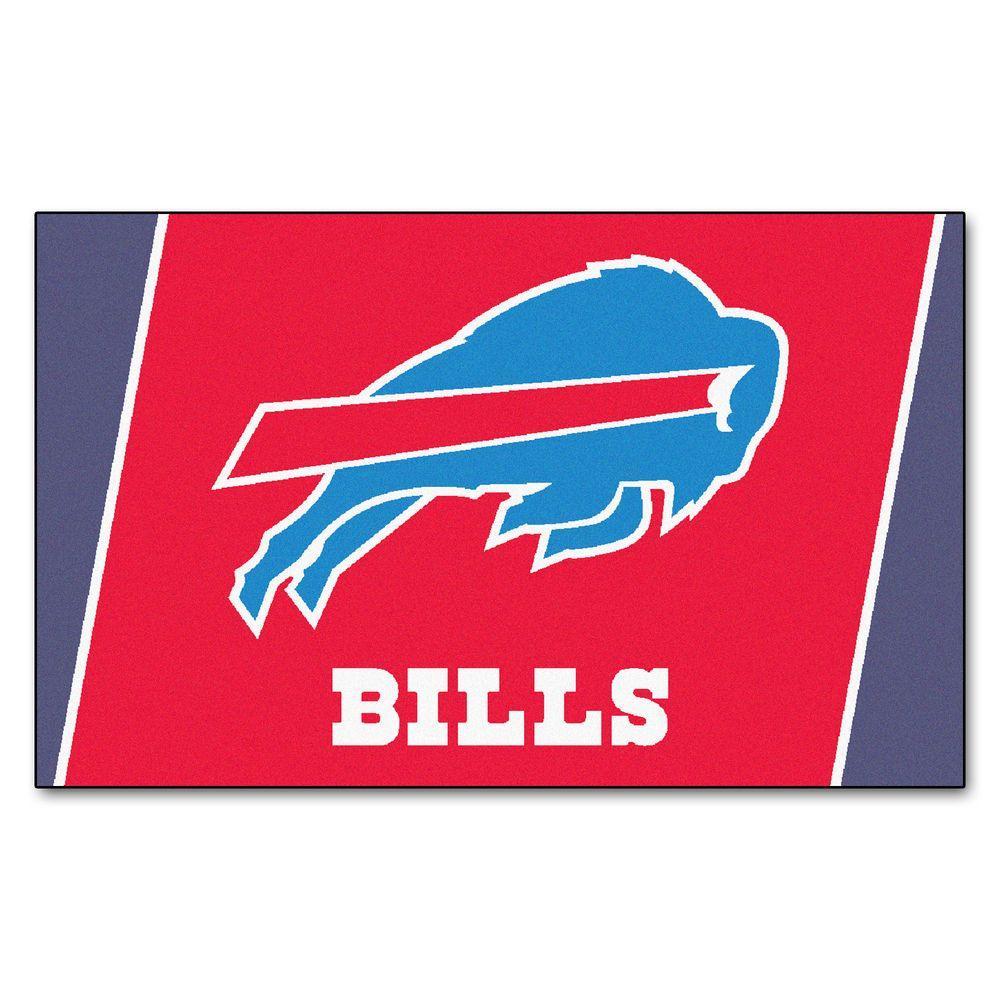 Buffalo Bills 4 ft. x 6 ft. Area Rug