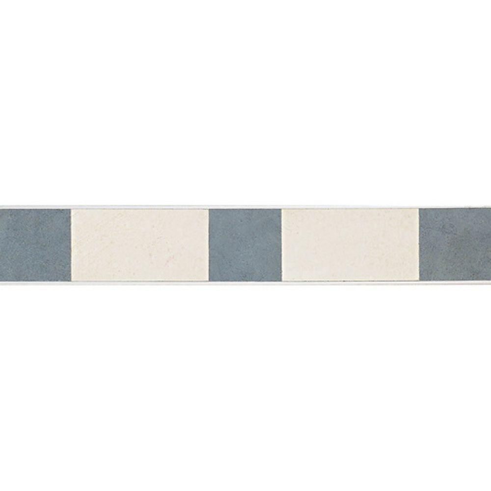 Daltile Veranda Multicolor 3-1/4 in. x 20 in. Deco D Porcelain Border Floor and Wall Tile (14.33 sq. ft. / piece)