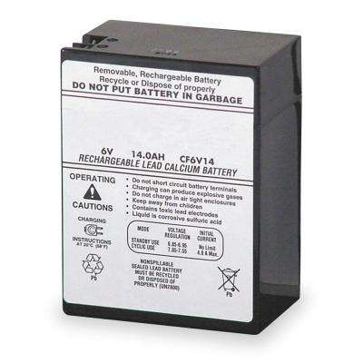 ELB 0614 6-Volt Emergency Replacement Battery