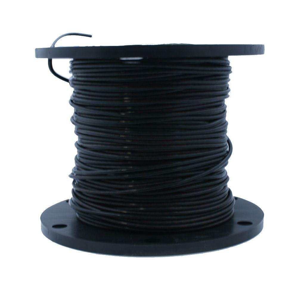 500 ft. 8-Gauge Black Stranded XHHW-2 Wire