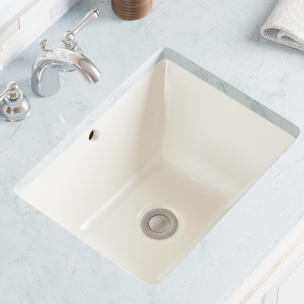 Undermount Porcelain Bathroom Sink