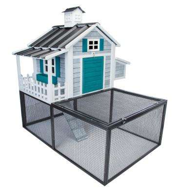 Seaside Cottage Chicken Coop