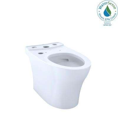 Aquia IV WASHLET+ Elongated Toilet Bowl Only with CeFiONtect in Cotton White
