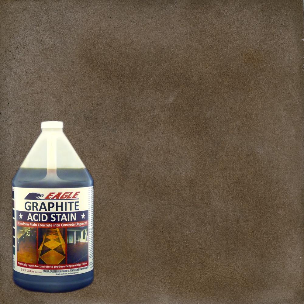 1 gal  Graphite Interior/Exterior Acid Stain