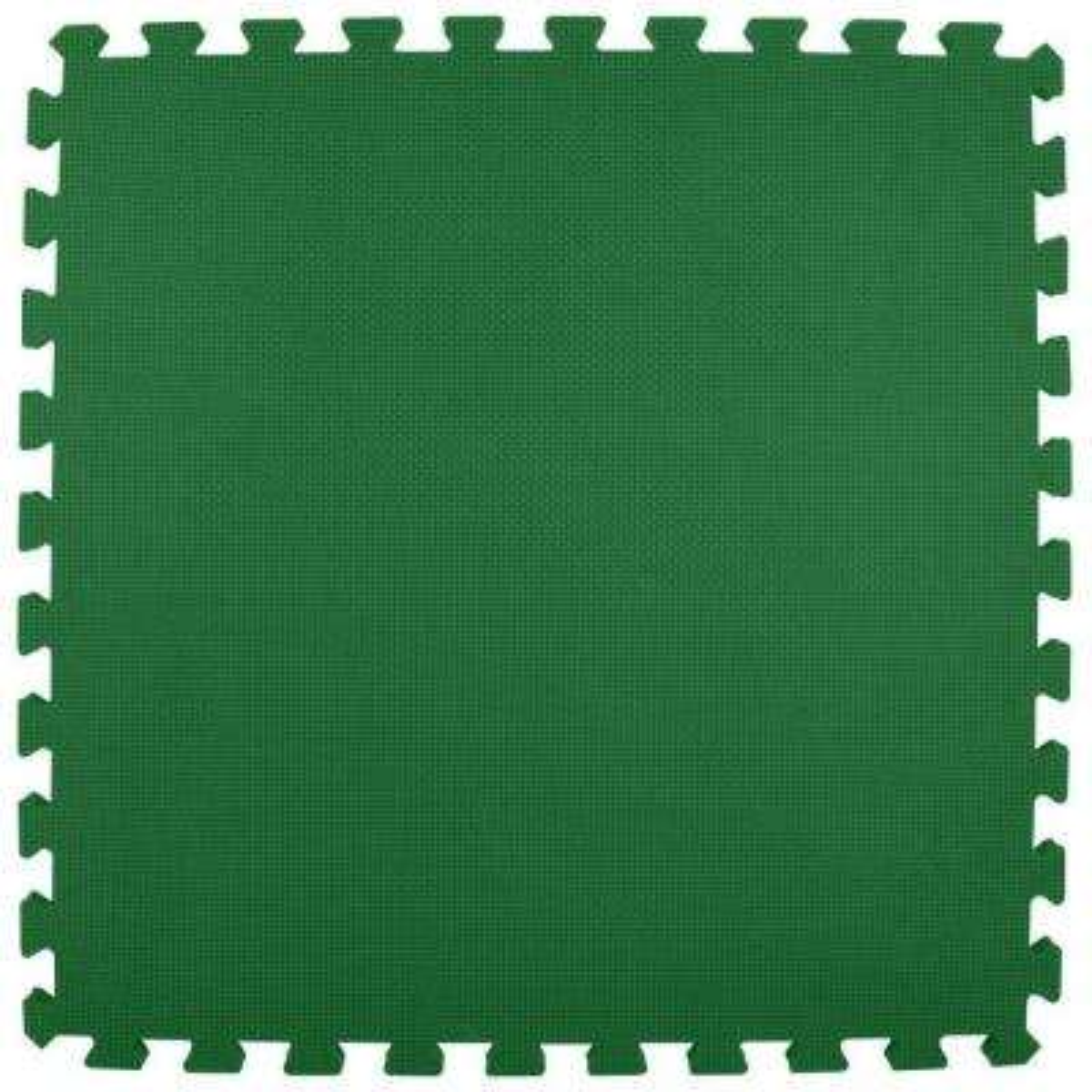 Premium Forest Green 24 in. x 24 in. x 5/8 in. Foam Interlocking Floor Mat (Case of 25)