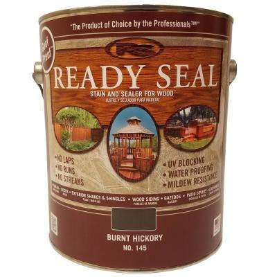 1 gal. Burnt Hickory Exterior Wood Stain and Sealer