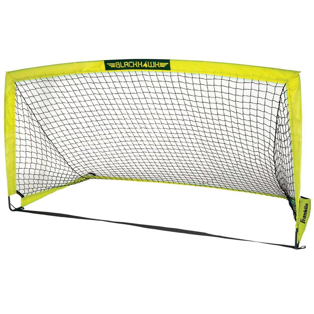 9 ft. x 5 ft. Fiberglass Blackhawk Goal