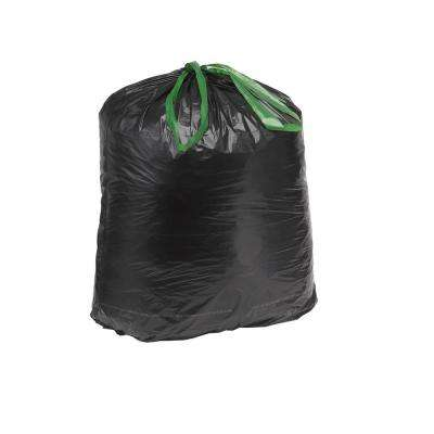 13 Gallon Black and White Tall Kitchen Trash Bags (200-Count)