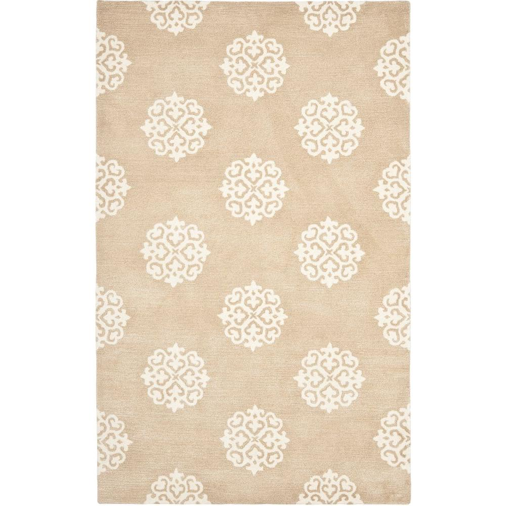 Safavieh Soho Beige/Ivory 2 ft. 9 in. x 4 ft. 9 in. Area Rug