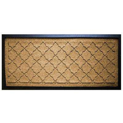 Gold 15 in. x 36 in. Cordova Boot Tray