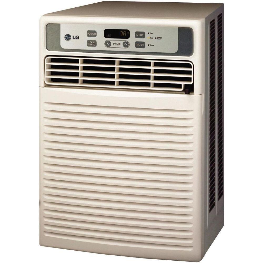 LG Electronics 9,500 BTU 115-Volt Window Casement Air Conditioner with Remote
