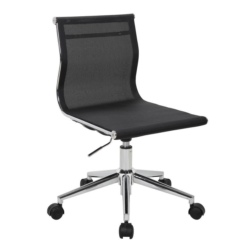Mirage Black Task Chair