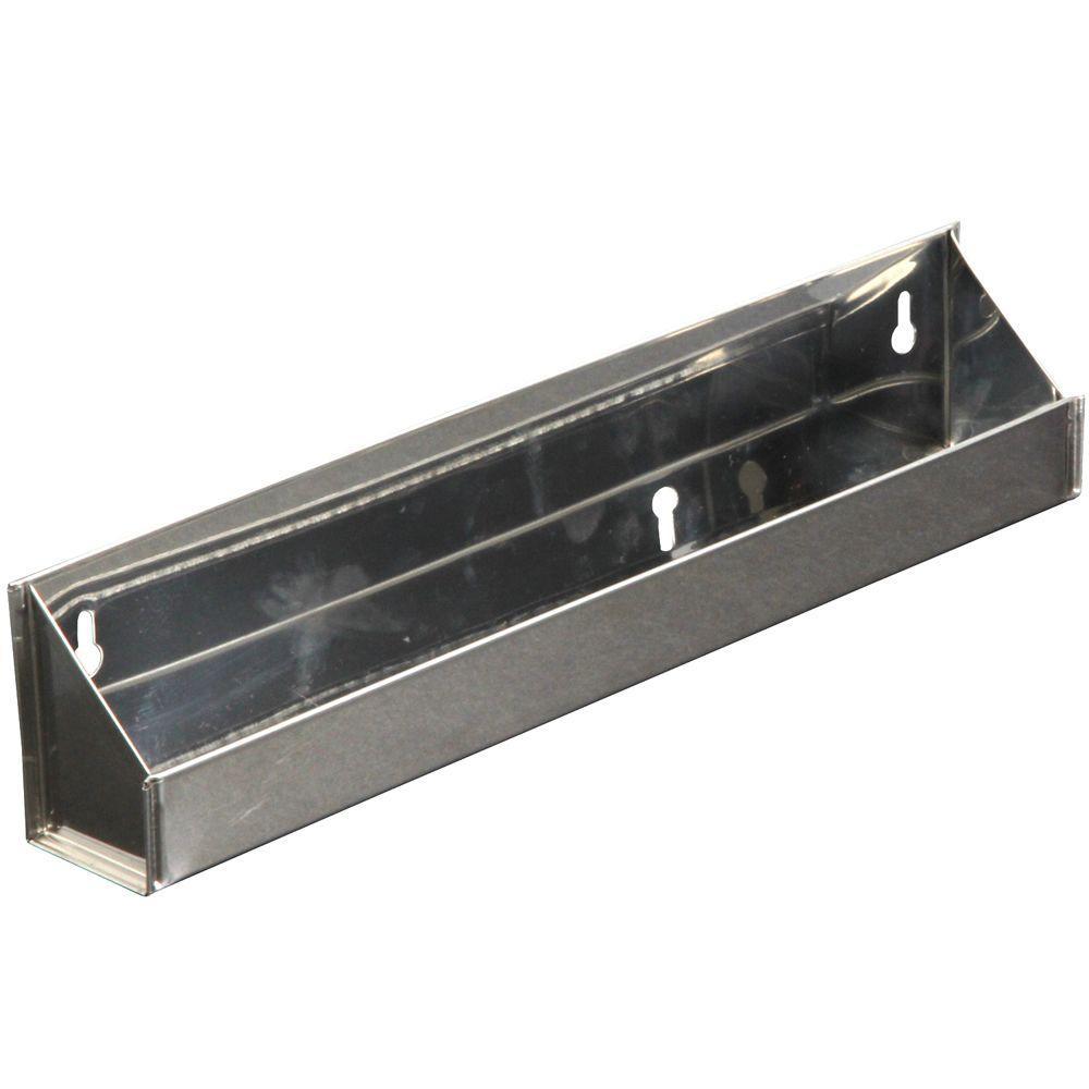 3 in. x 19.1 in. x 2 in. Steel Sink Front Tray Cabinet Orgainzer