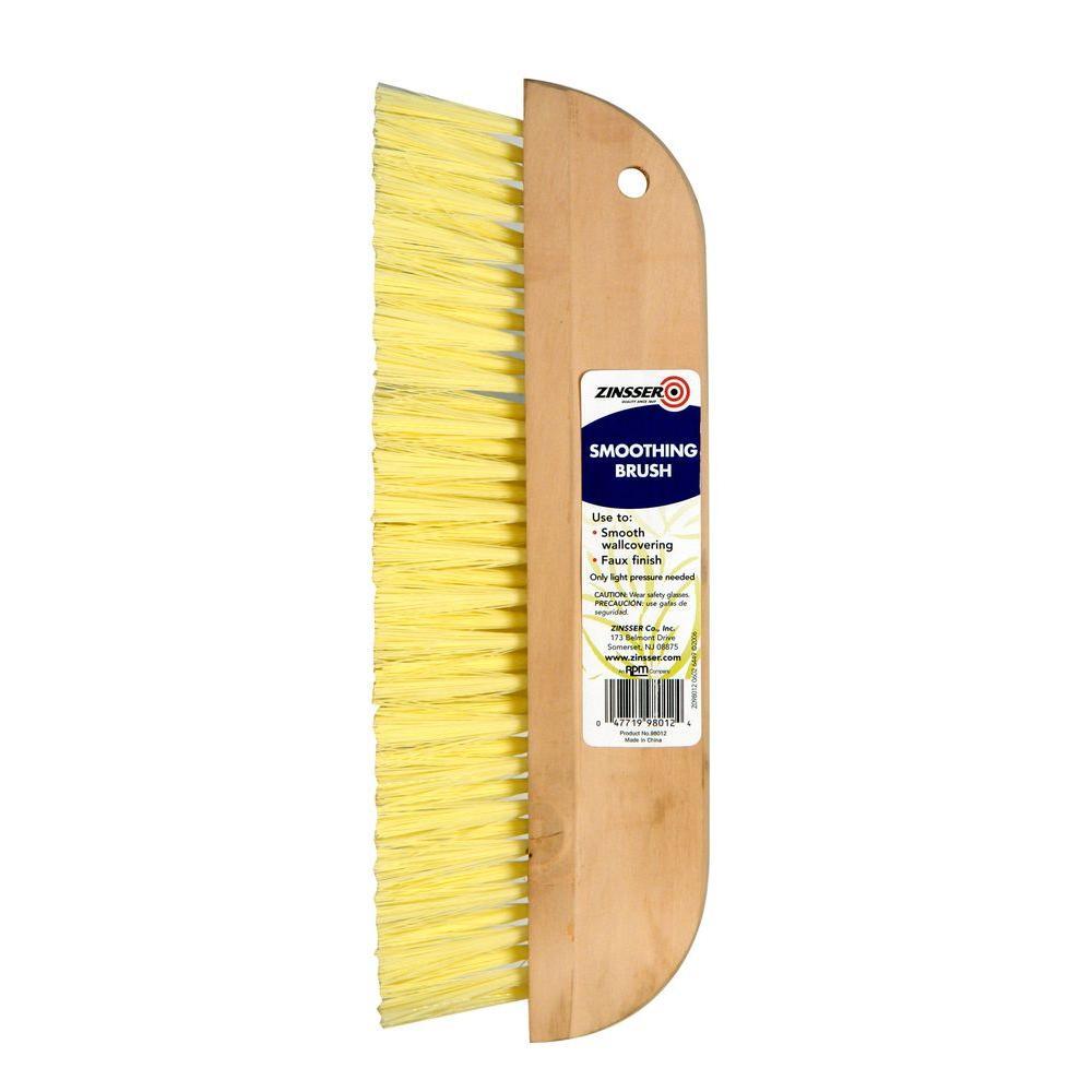 Zinsser 12 inch Flat Smoothing Bristle Brush (Case of 6) by Zinsser