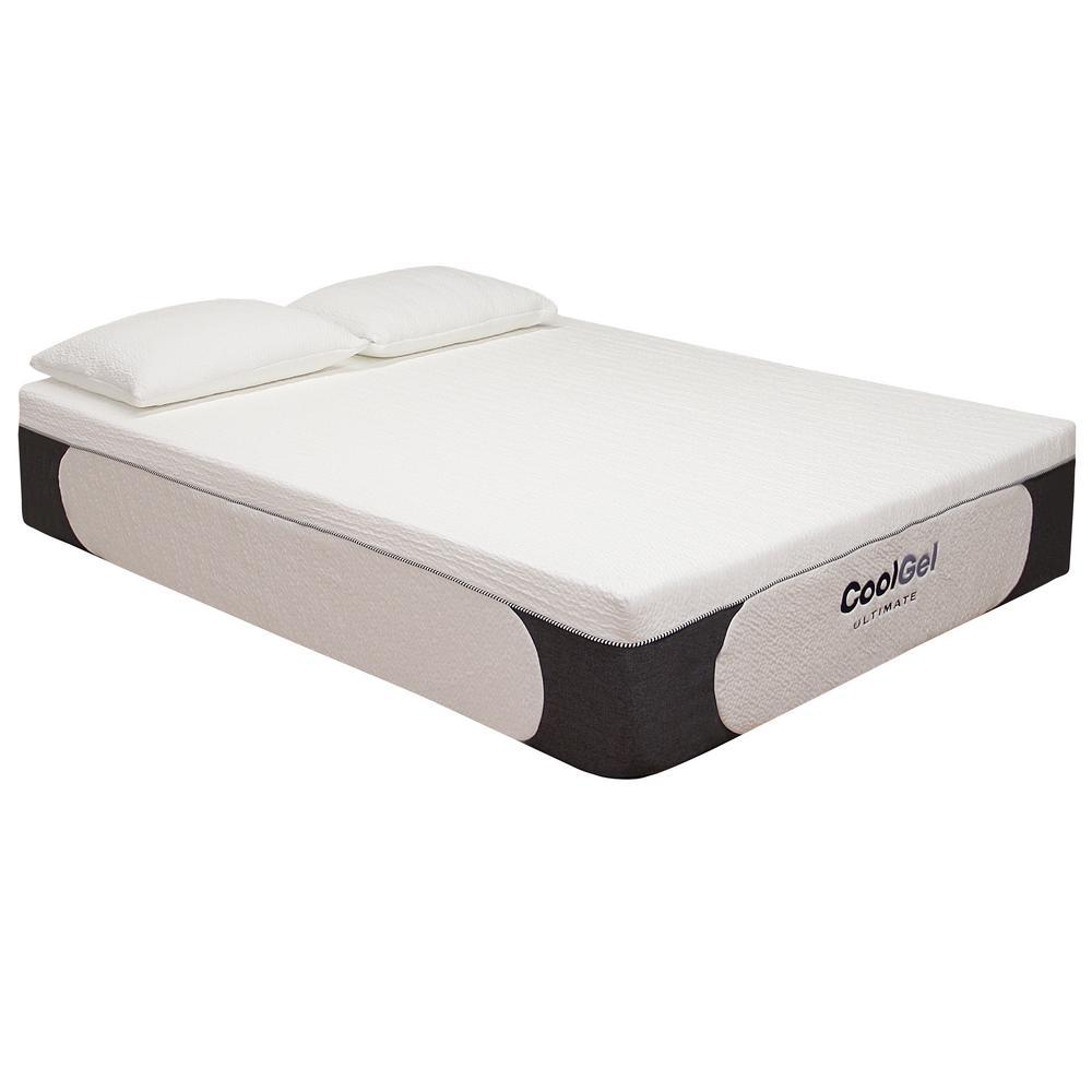 full mattress size. Cool Gel Ultimate Full-Size 14 In. Memory Foam Mattress Full Size