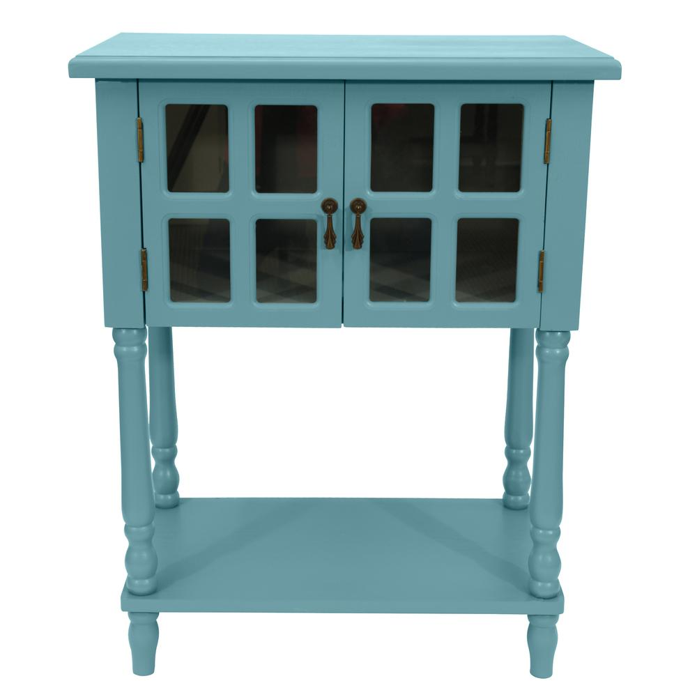 Decor Therapy Nora Robins Egg Blue Door Accent Table-FR8446 - The ...