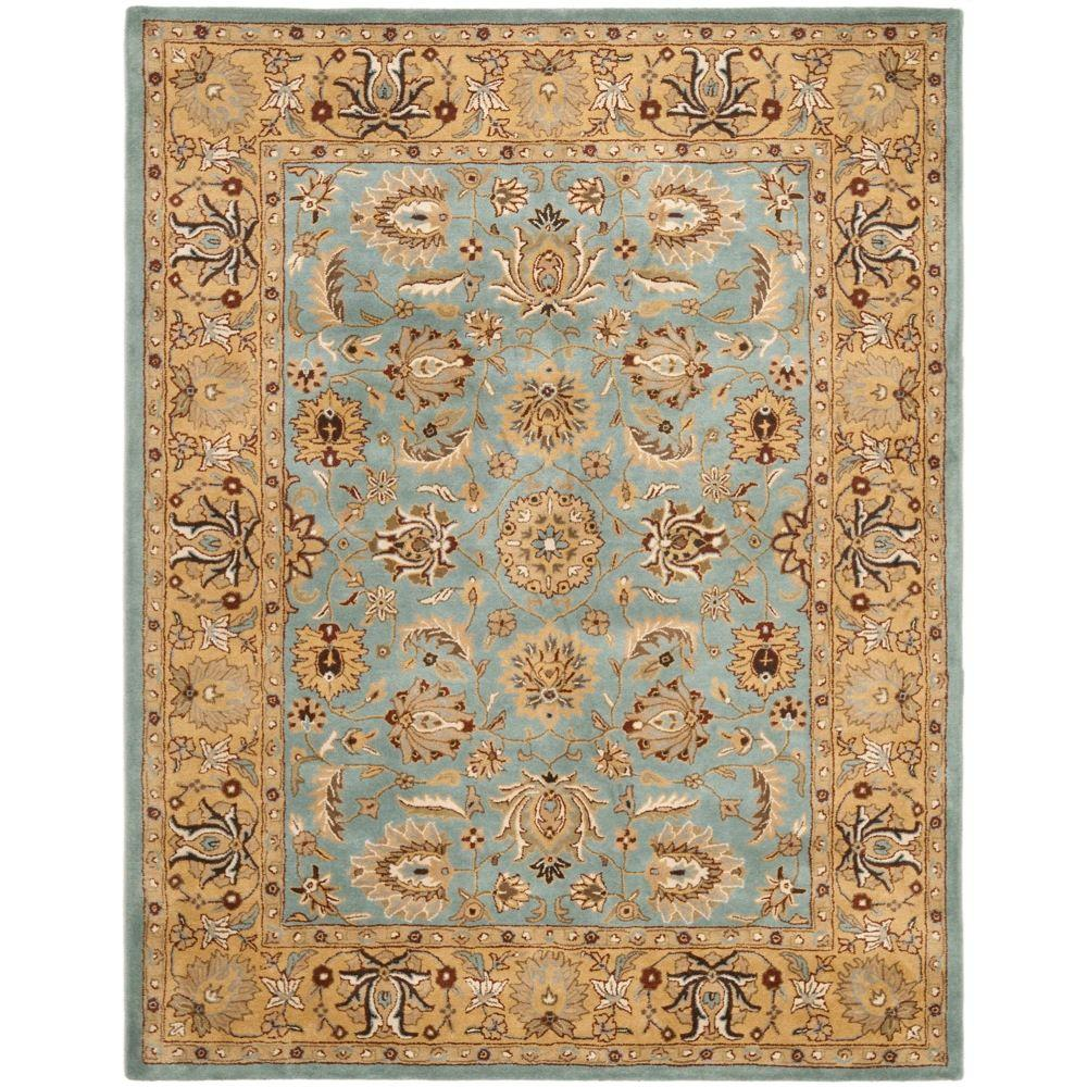 Heritage Blue/Gold 8 ft. 3 in. x 11 ft. Area Rug