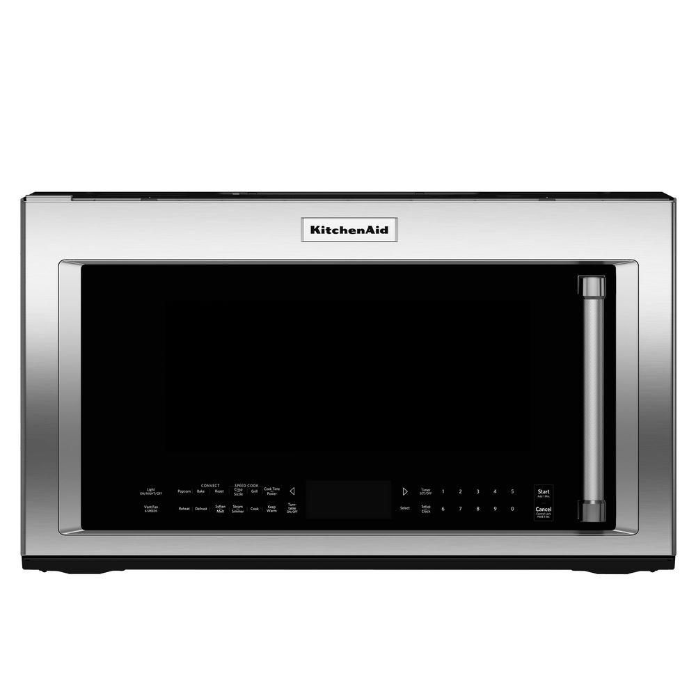 Kitchenaid 30 In 1 9 Cu Ft Over The Range Convection Microwave Stainless