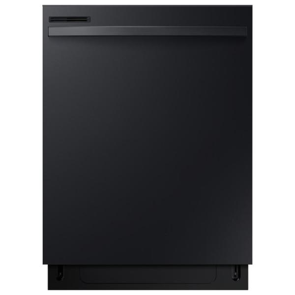 24 in. Top Control Dishwasher with Stainless Steel Interior Door and Plastic Tall Tub in Black, 55 dBA