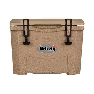 15 qt. Grizzly RotoMolded Cooler Sandstone