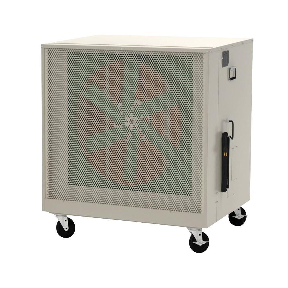 Aerocool 6500 CFM 2 Speed Portable Evaporative Cooler for 2200 sq. ft.