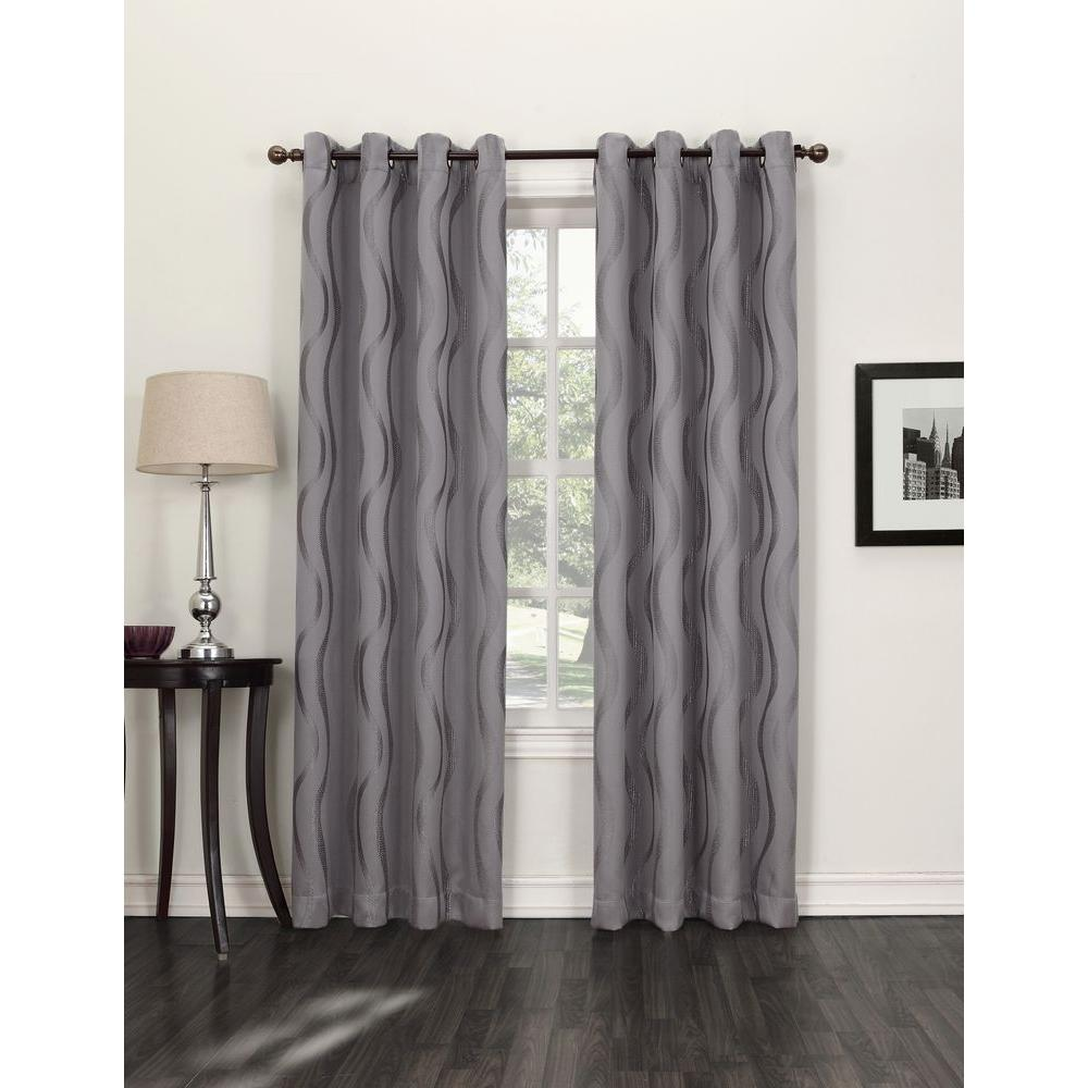 This Review Is FromBlackout FROST Acton Blackout Curtain Panel 52 In W X 95 L