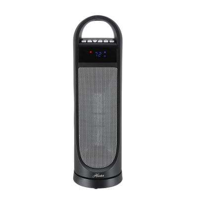 22 in. Digital Ceramic Portable Tower Heater with Remote Control