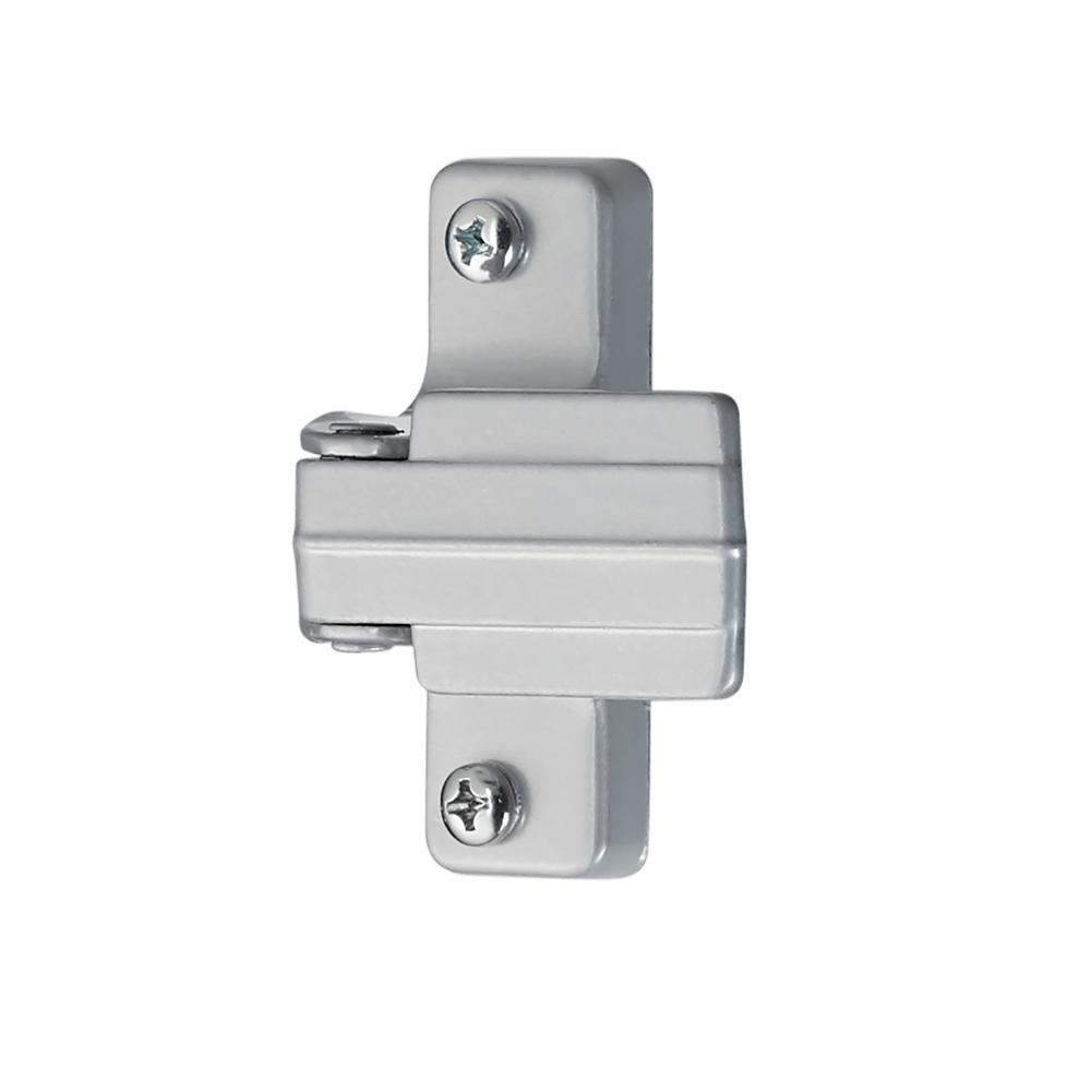 Storm and Screen Door Inside Replacement Latch (Silver)