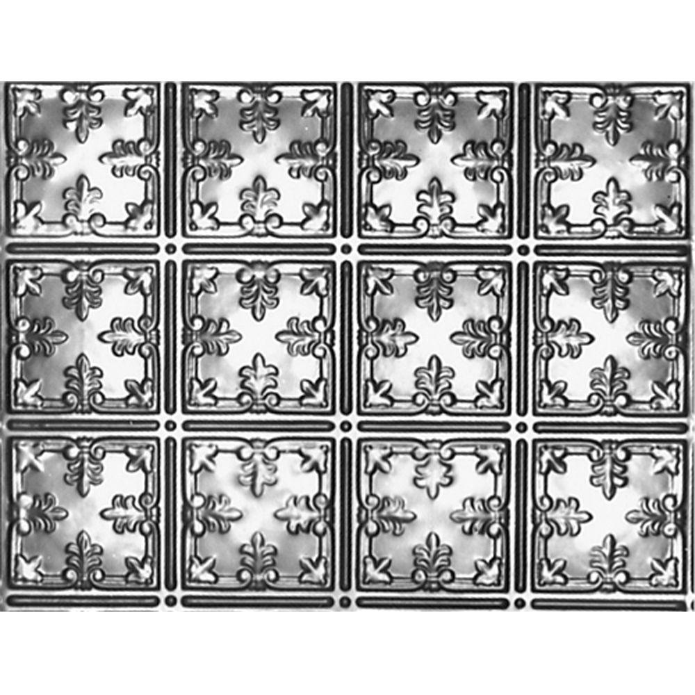 1-1/2 ft. x 4 ft. Nail-up/Direct Application Tin Ceiling Backsplash Tile
