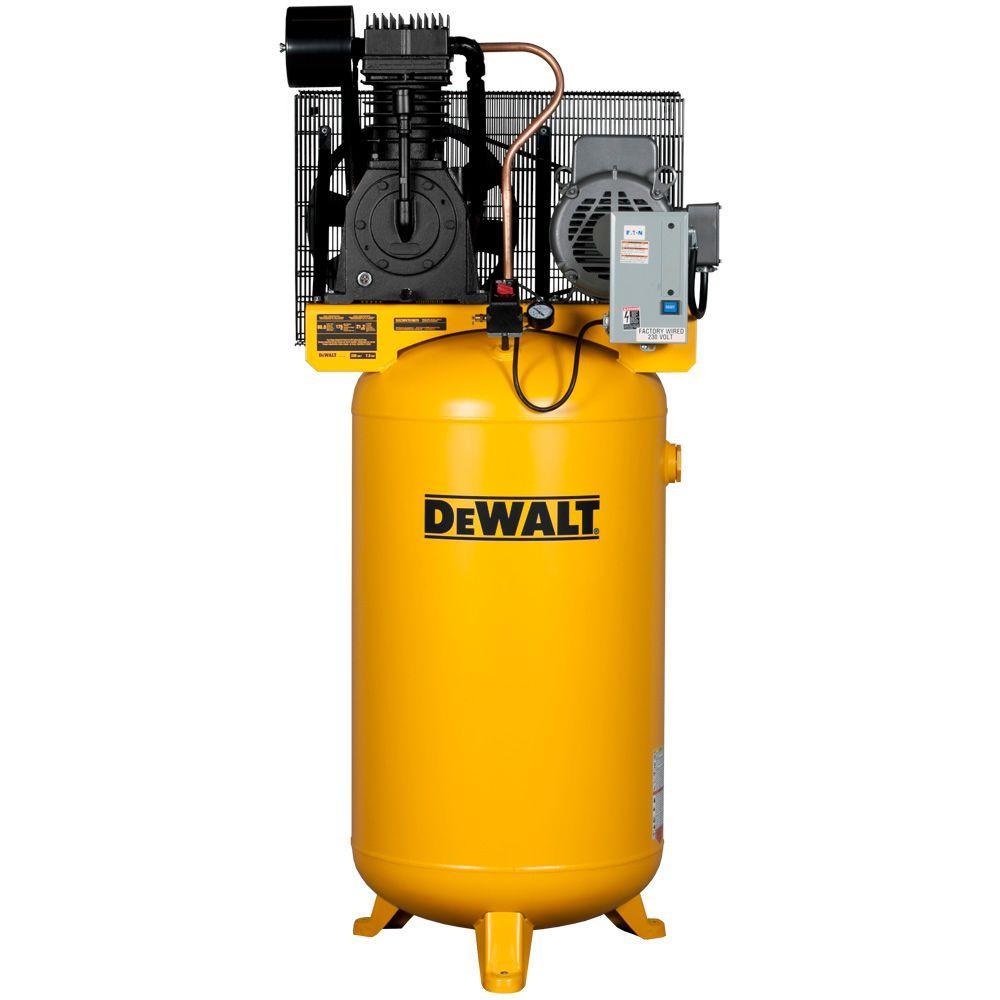 Dewalt 80 Gal. 7.5-HP 175 psi 2-Stage Stationary Electric Air Compressor by DEWALT