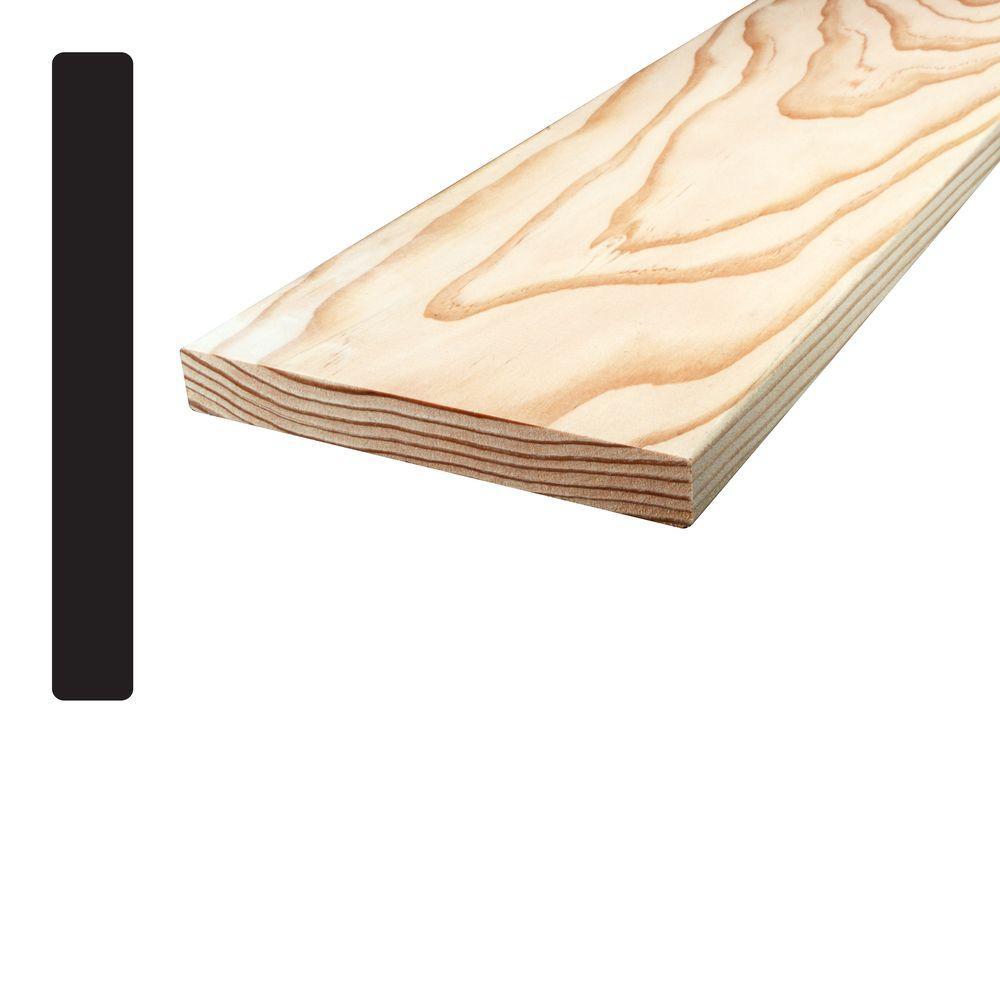 Douglas Fir S4SE4E Mixed Grain Board (Common: 1 in. x 6 in. x 96 in.; Actual: 0.6875 in. x 5.5 in. x 96 in.)