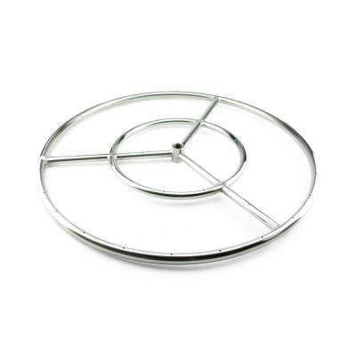 18 in. Stainless Steel Fire Ring Burner