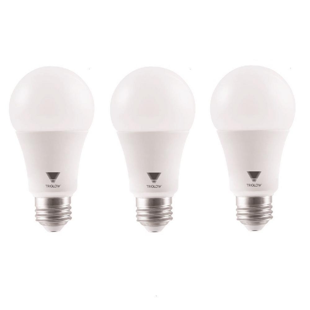 100 Watt Equivalent A19 Dimmable 1500 Lumens UL Listed LED Light Bulbs  Daylight (3