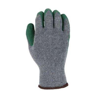 Men's X-Large Latex Coated Gloves